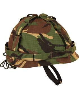 M1 Plastic Helmet with Cover - DPM