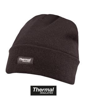 Thermal Bob Hat - Black 12 Pack