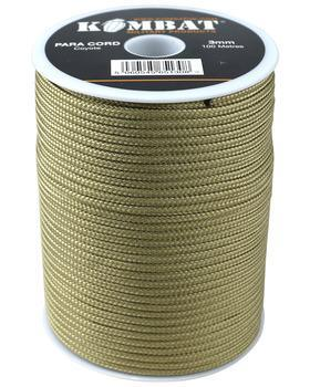 Paracord - 100m Reel - Coyote