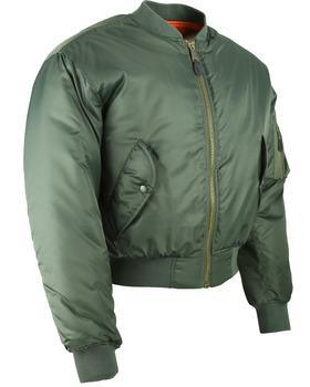 MA1 Bomber Jacket - Olive Green XL