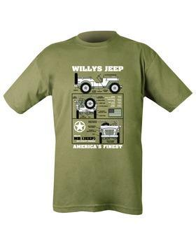 Willys Jeep T-shirt XXL