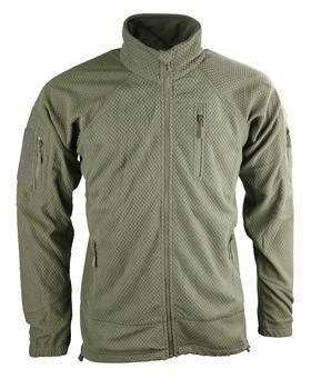 Delta Tactical Grid Fleece - Olive Green XXL