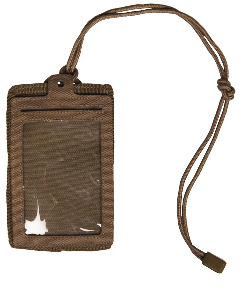 ID CARD CASE DARK COYOTENORTHVIVOR