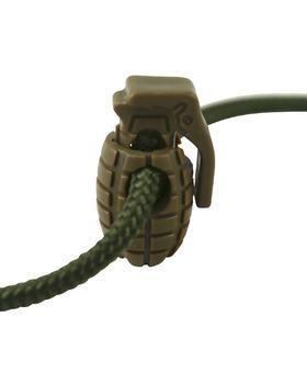 Grenade Cord Stoppers - Coyote