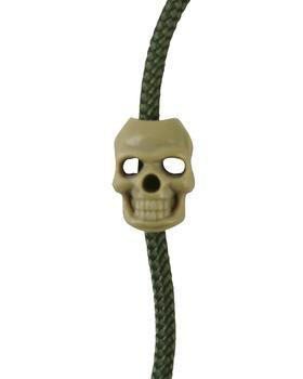 Skull Cord Stoppers - Coyote