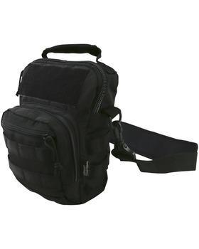 Hex - Stop  Explorer Shoulder Bag - Black
