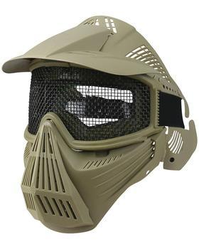 Full Face Mesh Mask - Coyote