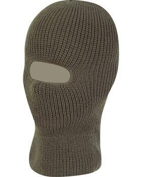 Open Face Balaclava - Olive Green 12 Pack