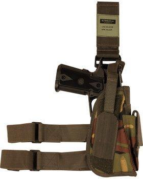 Tactical Leg Holster - DPM - LEFT handed