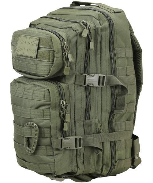 Small Molle Assault Pack 28 Litre - Olive Green