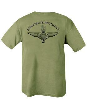 Parachute Regiment T-shirt - Olive Green XXL