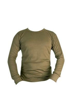 Thermal Long Sleeved Top - Olive Green XXL