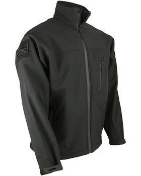 TROOPER - Tactical Soft Shell Jacket Black XXL