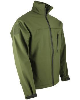 TROOPER - Tactical Soft Shell Jacket Olive Green XL
