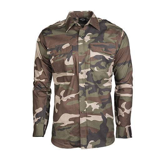 Camisa campo ripstop woodland