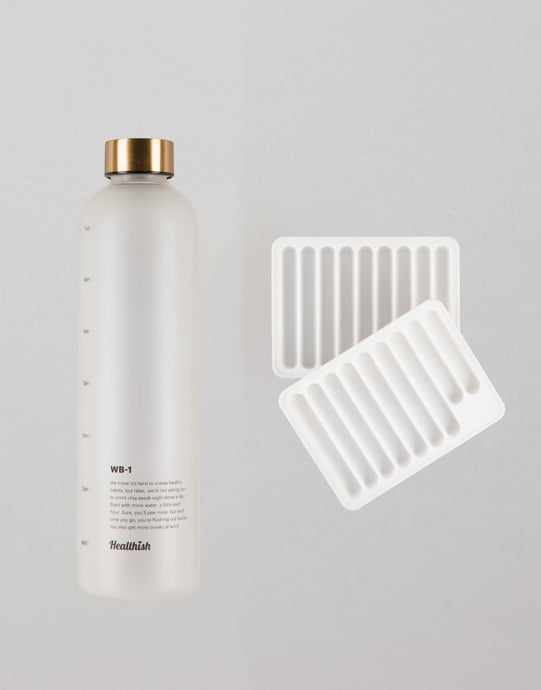 Healthish Bottle + Tray Bundle - Save $5!