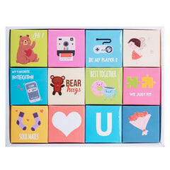 Outerbloom Letter Box Chocolate Beary in Love 4x3