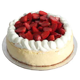 Bitter Sweet Strawberry Cheesecake