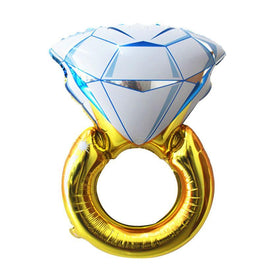 Gold Diamond Ring Balloon