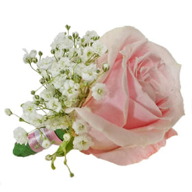 Pinky Bloom Boutonniere