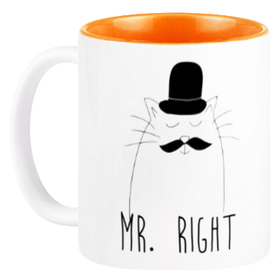 Mug Couple Mr Right