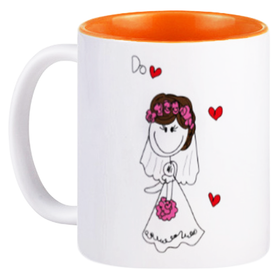 Mug Couple Bride