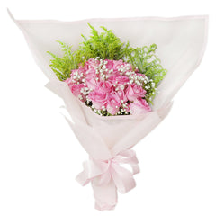 Blossom Pink Hand Bouquet