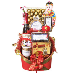 Outerbloom Red Prosperous Hampers