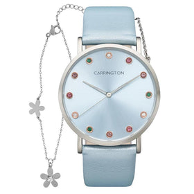 Carrington Luella CT-2010-04-SET4 With Bracelet - Blue