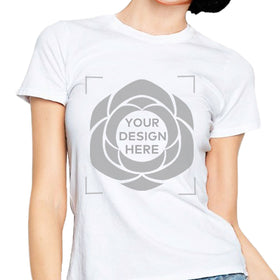 Customizable Design T-Shirt Unisex - White