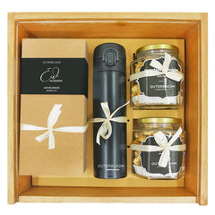 Outerbloom Wooden Gold Hampers