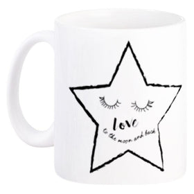 Mug Couple Loving Star White