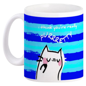 Mug Couple Purrrfect Mr Cat