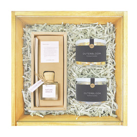 Outerbloom Wooden Sweetness Hampers