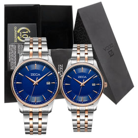 Zeca Couple Series 3008 - Blue Rosegold