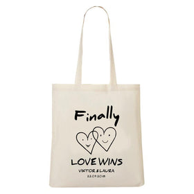 Tote Bag Love Wins