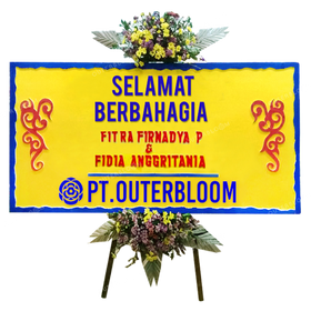 AIA PAPAN BUNGA WEDDING L1 002