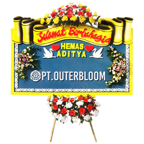 AIA PAPAN BUNGA WEDDING L1 007