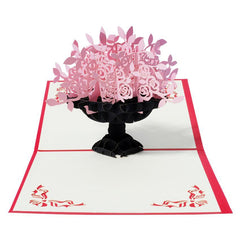 Outerbloom Pink Blossom 3D Card