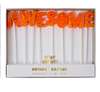 Awesome Birthday Party Candles