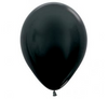 Black Birthday Party Balloon