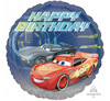Disney Cars Self Sealing Foil Happy Birthday Balloon