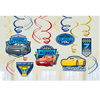 Disney Cars Birthday Party Hanging Swirls