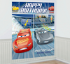 Disney Cars Happy Birthday Party Scene Setter