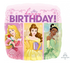 Disney Princes Dream Big Happy Birthday Foil Balloon