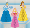 Disney Princess Dream Big Hanging Honeycomb Characters