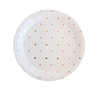 Pink and Gold Spot Princess Party Plate