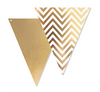Gold Chevron Bunting