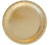 Gold Foil Large Party Plates