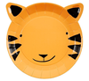 Go Wild Jungle Tiger Plate